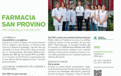 La Farmacia San Provino nel numero speciale GOLD di INFO pmi